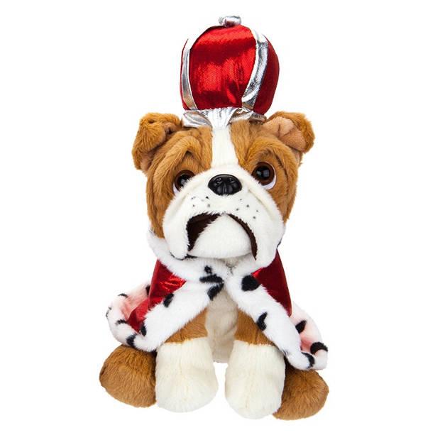 Kamparo hondenknuffel Royal 20 cm rood