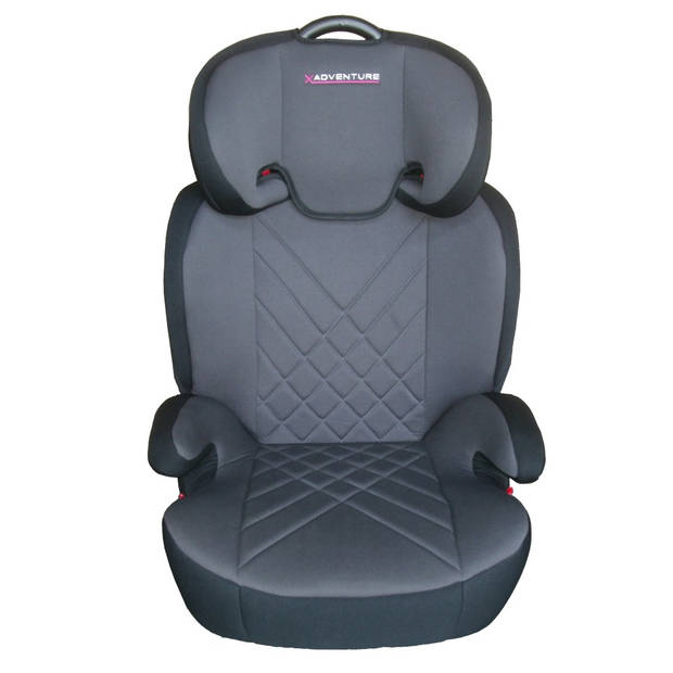 X-Adventure Autostoel JuniorFix Zwart/Grijs