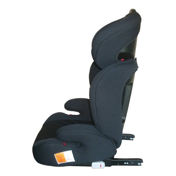 X-Adventure Autostoel JuniorFix Zwart
