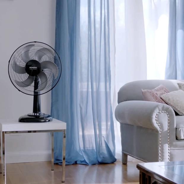 Mondial black premium turbo ventilator ø30 cm