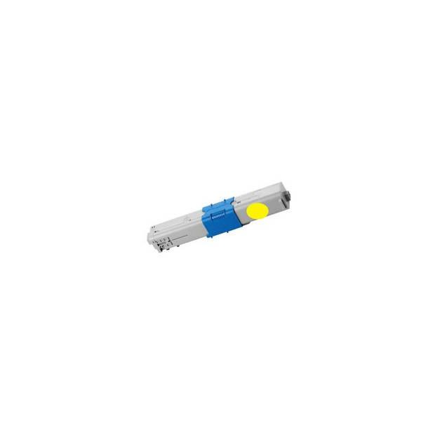 FLWR Oki C301 / C321 geel Toner