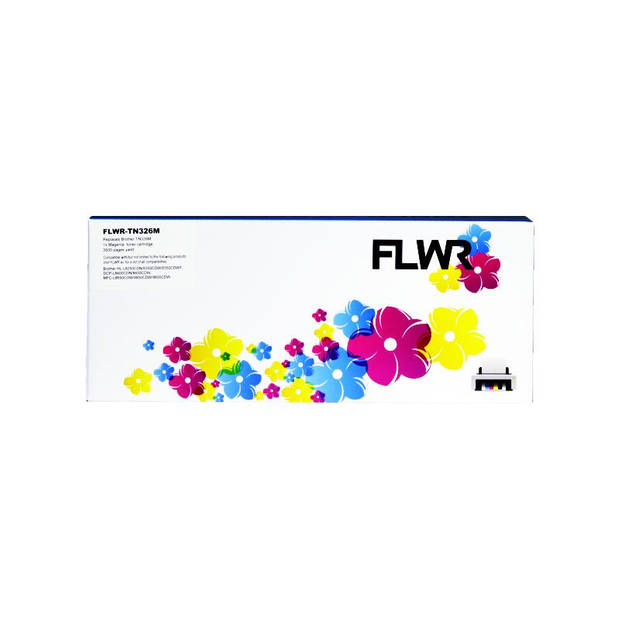 FLWR Brother TN-326M magenta Toner