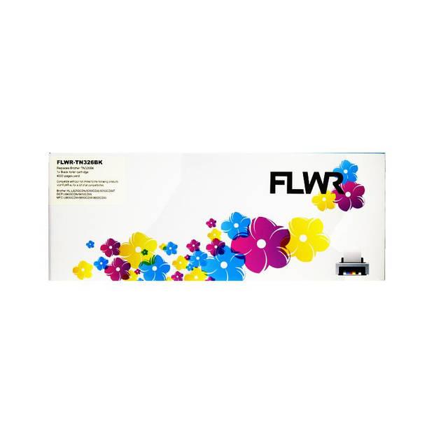 FLWR Brother TN-326BK zwart Toner