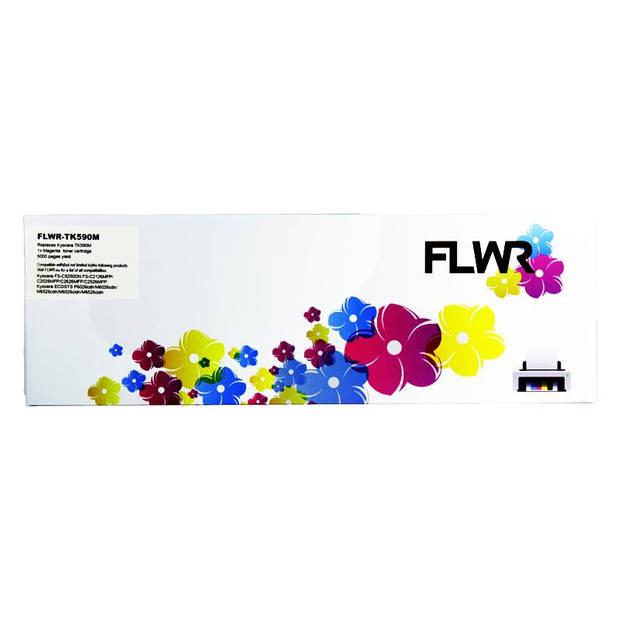 FLWR Kyocera Mita TK-590M magenta Toner