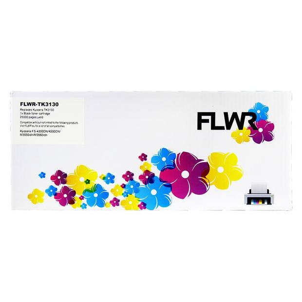 FLWR Kyocera Mita TK-3130 zwart Toner