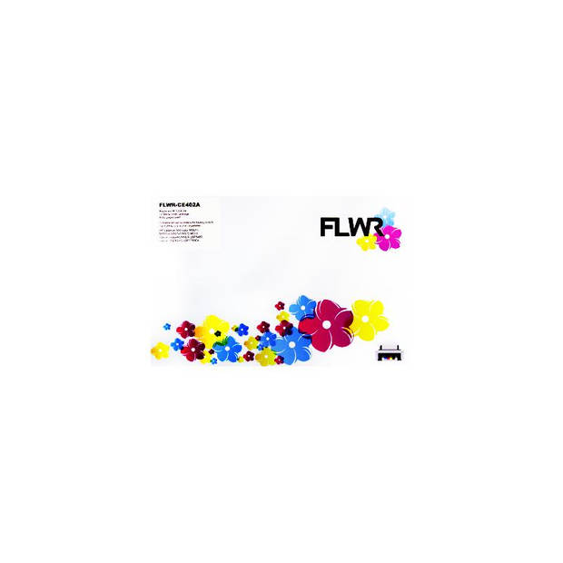 FLWR HP 507A geel Toner