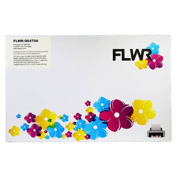 FLWR HP 501A zwart Toner