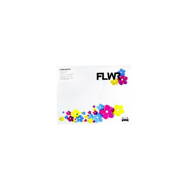 FLWR HP 51X zwart Toner