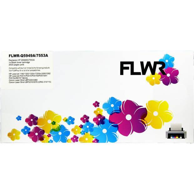 FLWR HP 49A zwart Toner