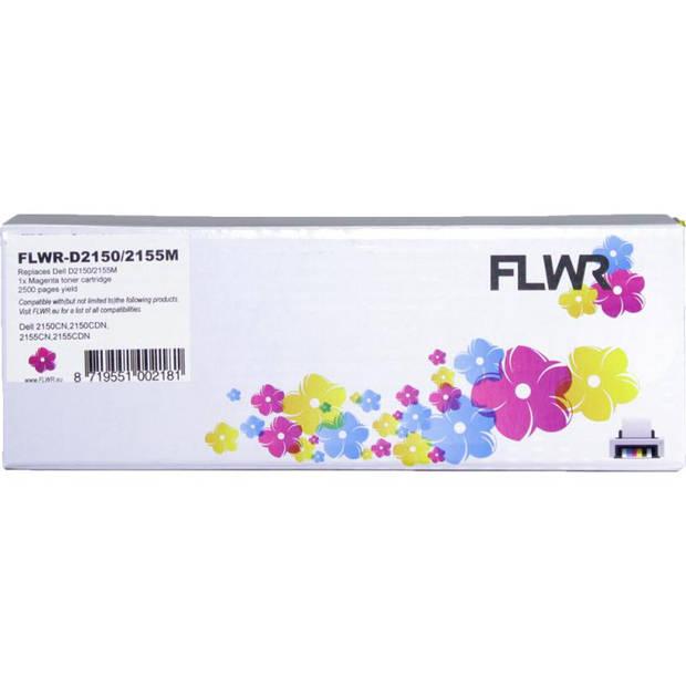 FLWR Dell 2150 / 2155 magenta Toner