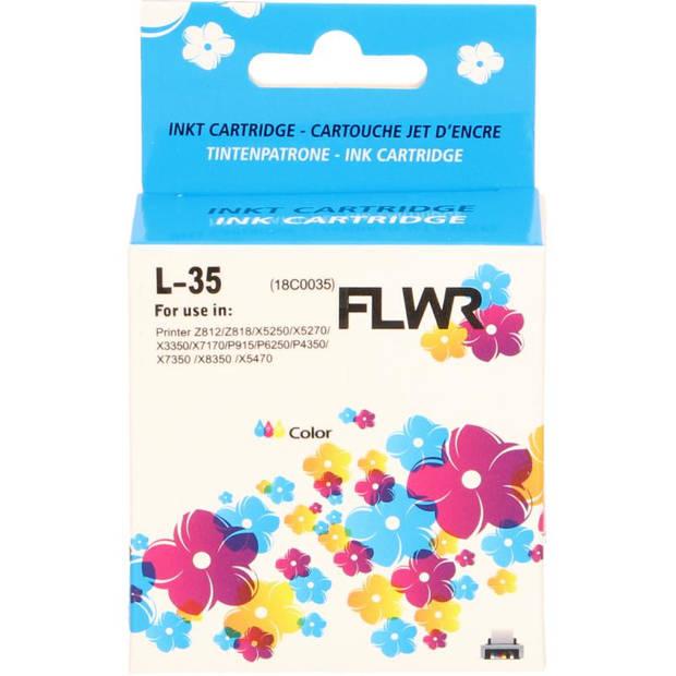FLWR Lexmark 35XL kleur Cartridge