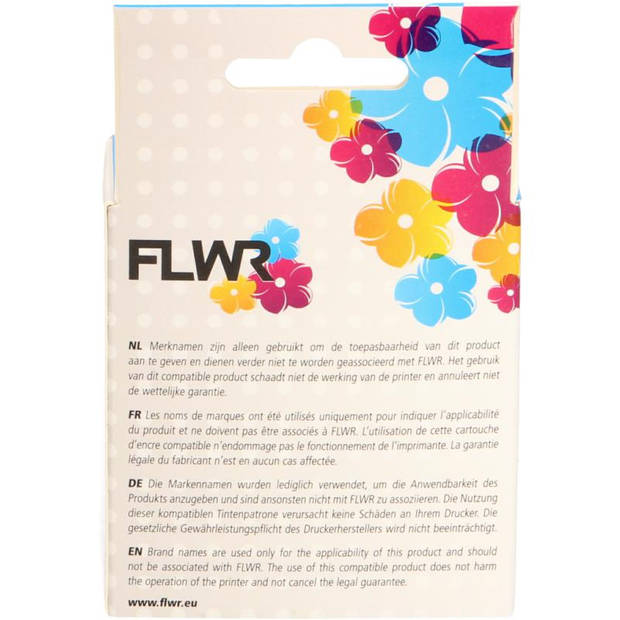 FLWR HP 363 geel Cartridge
