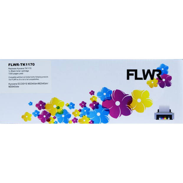 FLWR Kyocera Mita TK-1170 zwart Toner