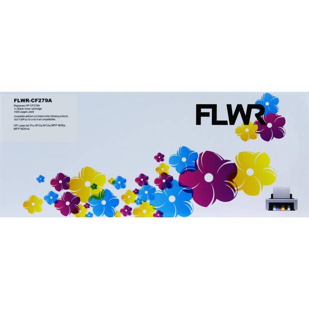 FLWR HP 79A zwart Toner