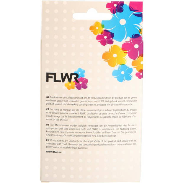FLWR HP 920XL Multipack zwart en kleur Cartridge
