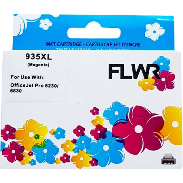 FLWR HP 935M magenta Cartridge