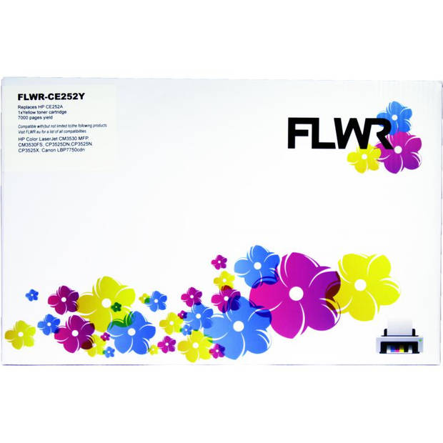 FLWR HP 504A geel Toner