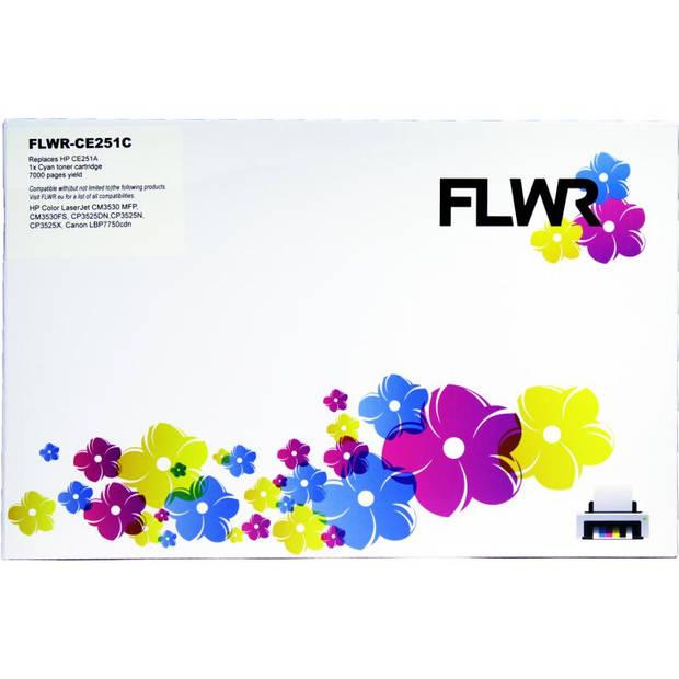 FLWR HP 504A cyaan Toner