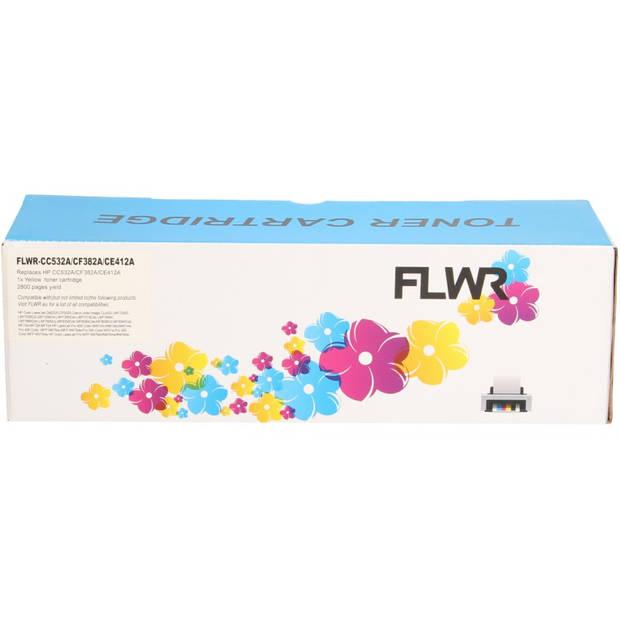 FLWR HP 312A geel Toner