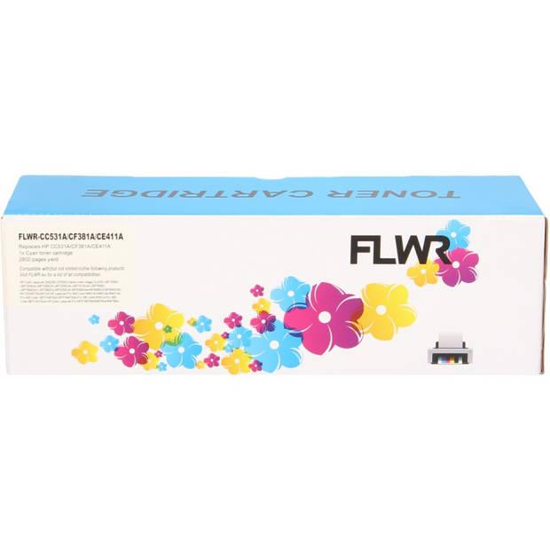 FLWR HP 312A cyaan Toner