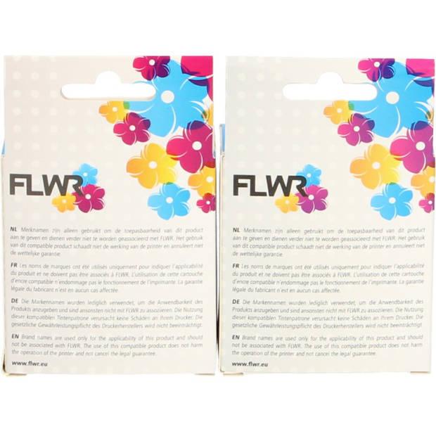 FLWR HP 301XL Multipack zwart en kleur Cartridge