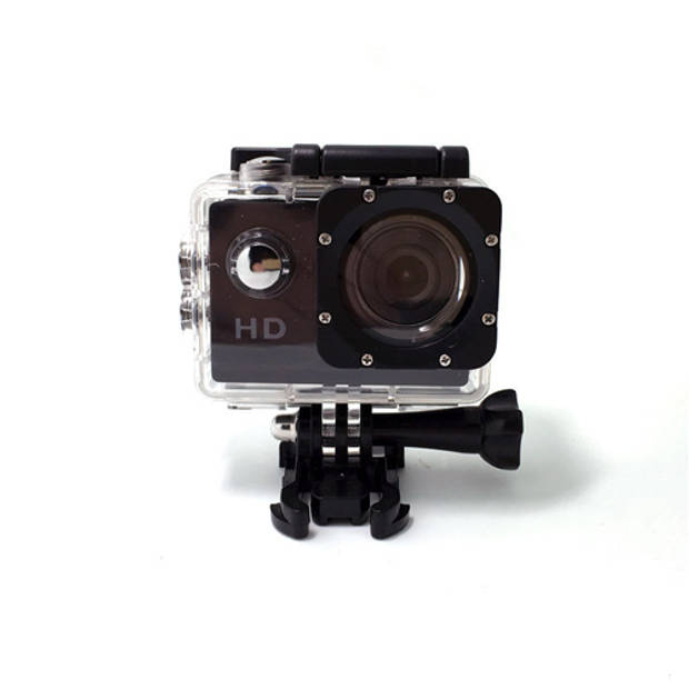 Sport HD 1080P Action camera - Zwart