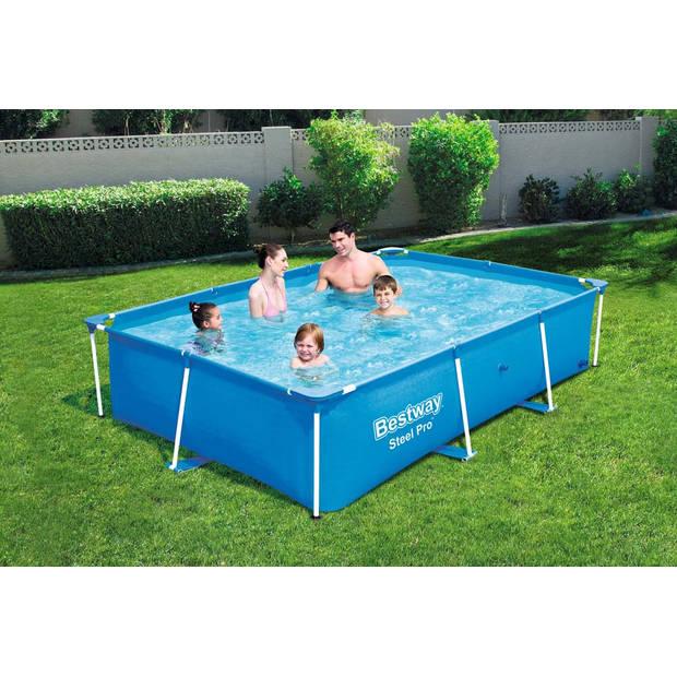 Bestway Passaat frame zwembad rechthoek - 259 x 170 x 61 cm
