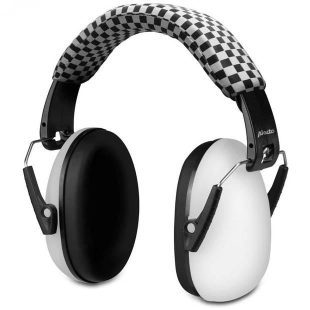 Alecto BV-71 gehoorbeschermer voor kinderen - zwart/wit