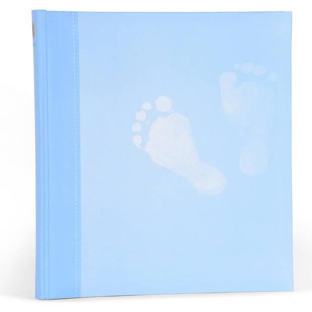 Henzo Babyalbum Steps blauw --NIET MEER LEVERBAAR--