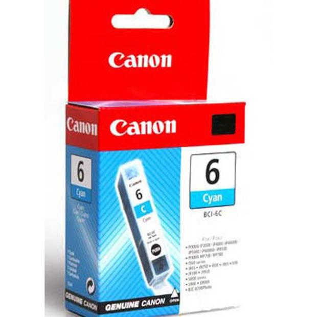 Canon BCI-6C cyaan Cartridge