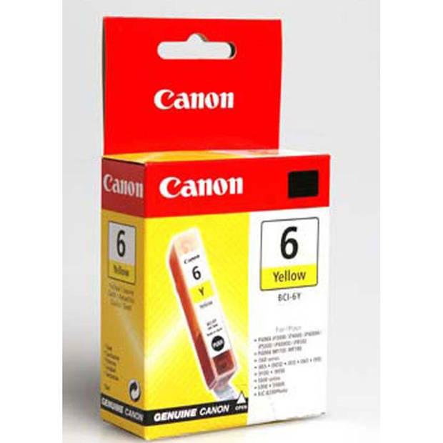 Canon BCI-6Y geel Cartridge