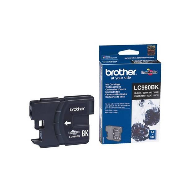 Brother LC-980BK zwart Cartridge