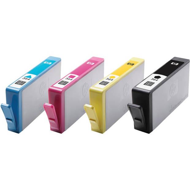 HP 364 Multipack zwart en kleur Cartridge