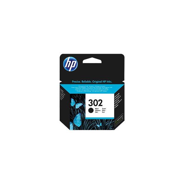 HP 302 zwart Cartridge