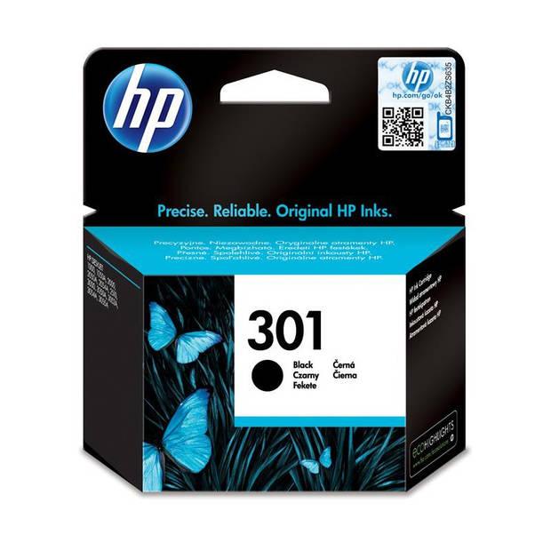 HP 301 zwart Cartridge