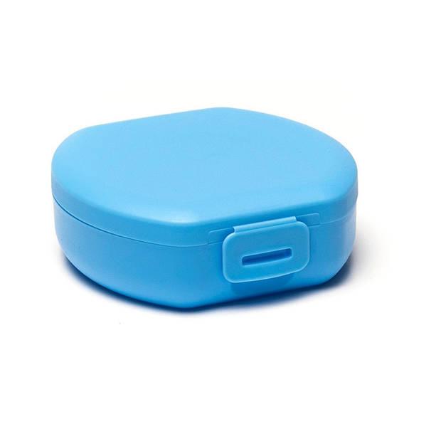 Amuse snackbox Small rond 0,5 liter blauw