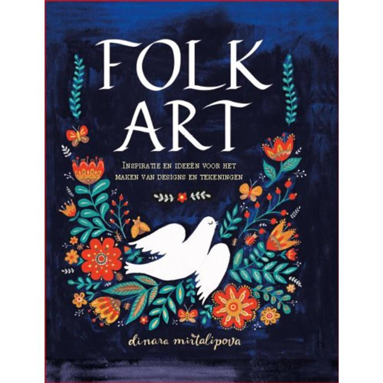 Folk Art. Inspiratie en Ideeen voor het maken van designs en tekeningen, Martalipova, Dinara, Hardco