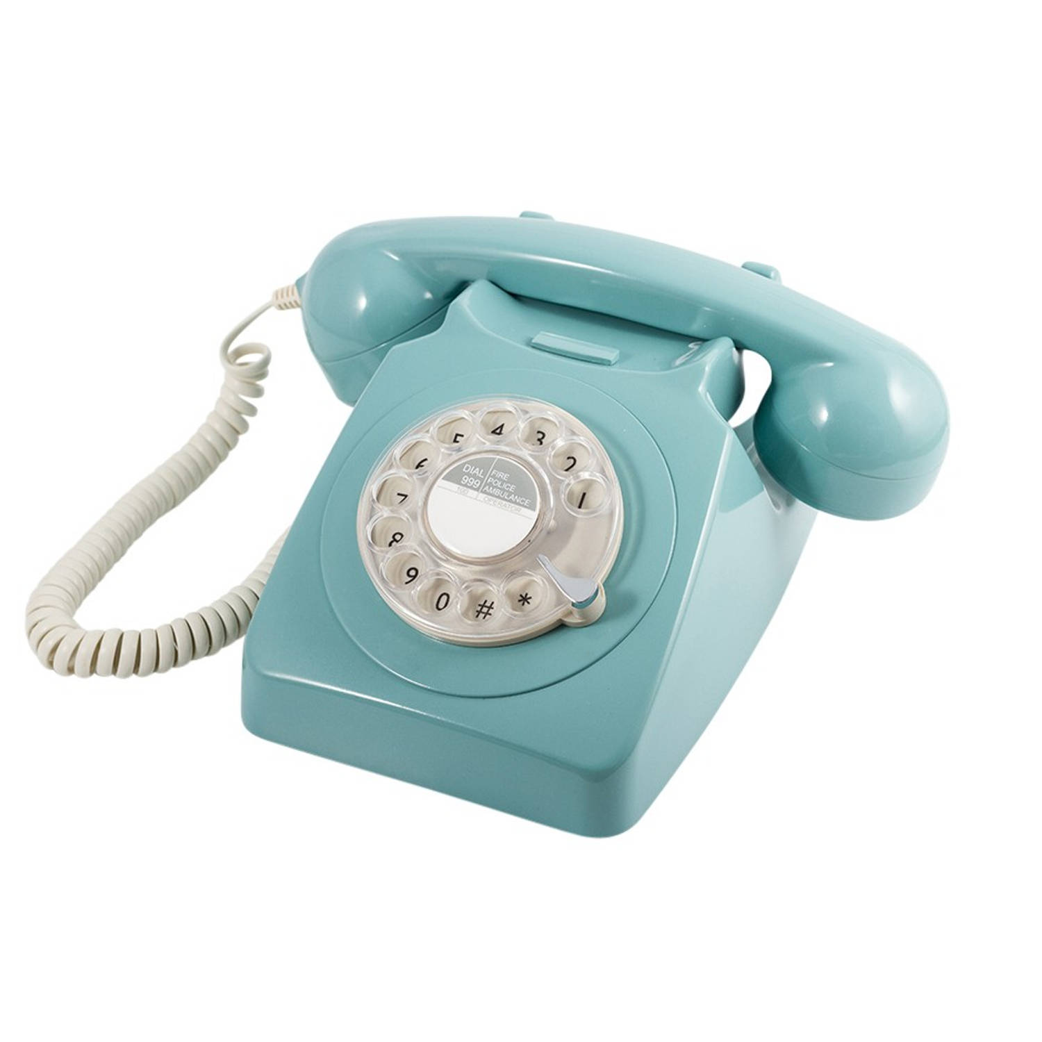 GPO 746 Draaischijf Retro Telefoon French Blue