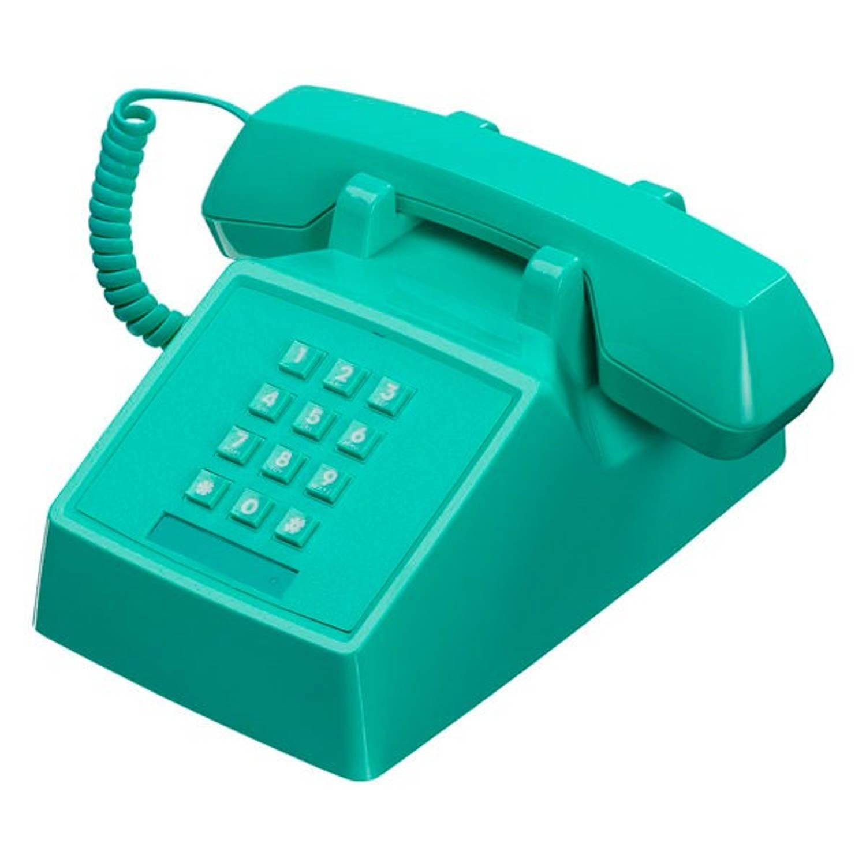 Wild & Wolf 2500 Retro Telefoon Miami Turquoise