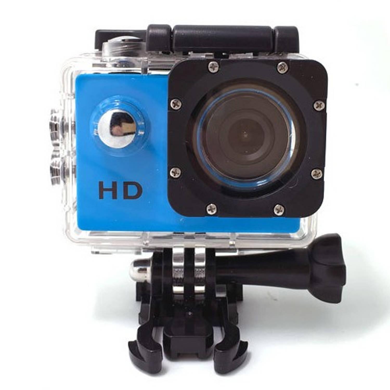 Sport HD 1080P Action camera Blauw