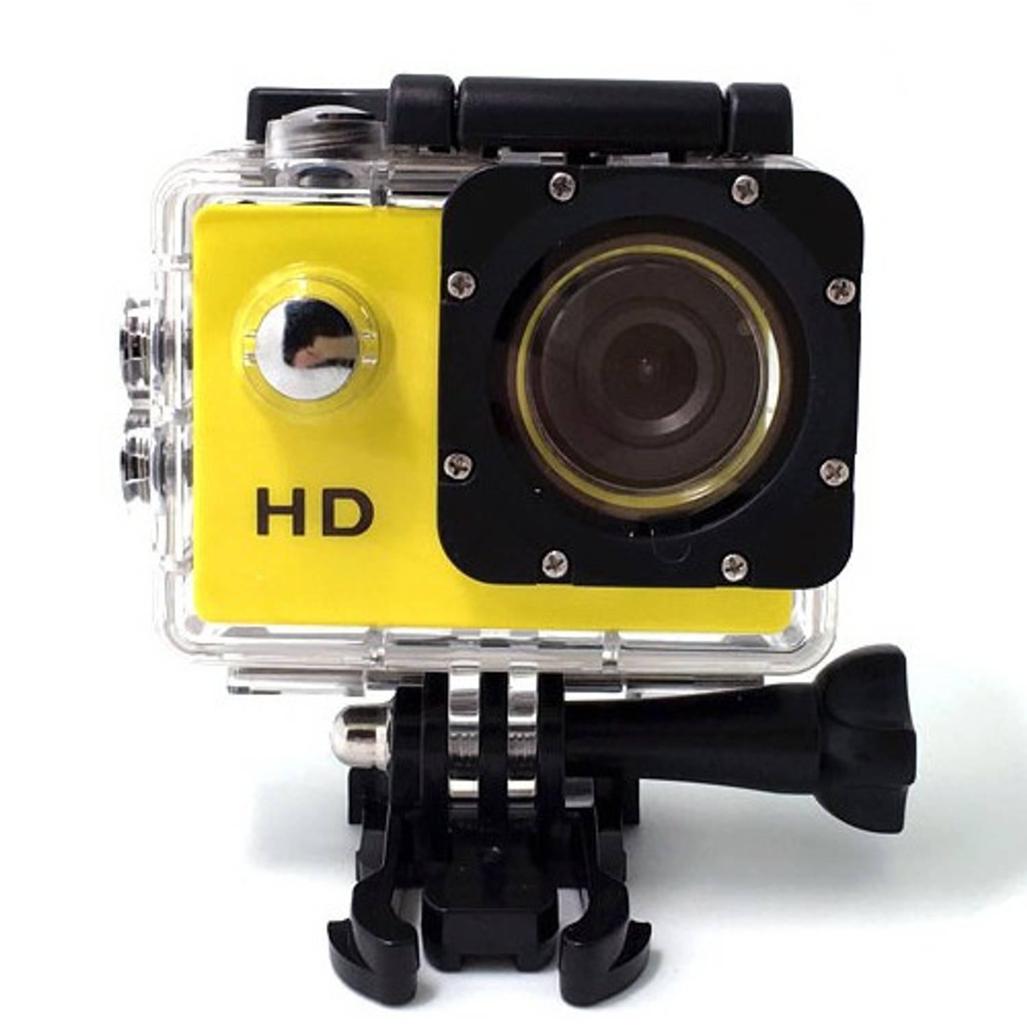 Sport HD 1080P Action camera Geel