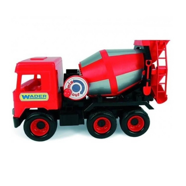 Afbeelding van Wader speelgoed Betonwagen rood 43 cm