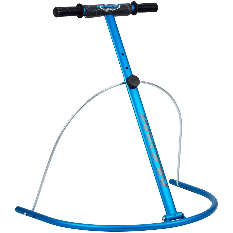 Nijdam Schaatshulp aluminium 60-85 cm blauw