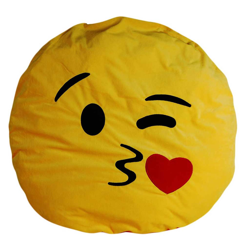 Emoji kussens ø 75 cm