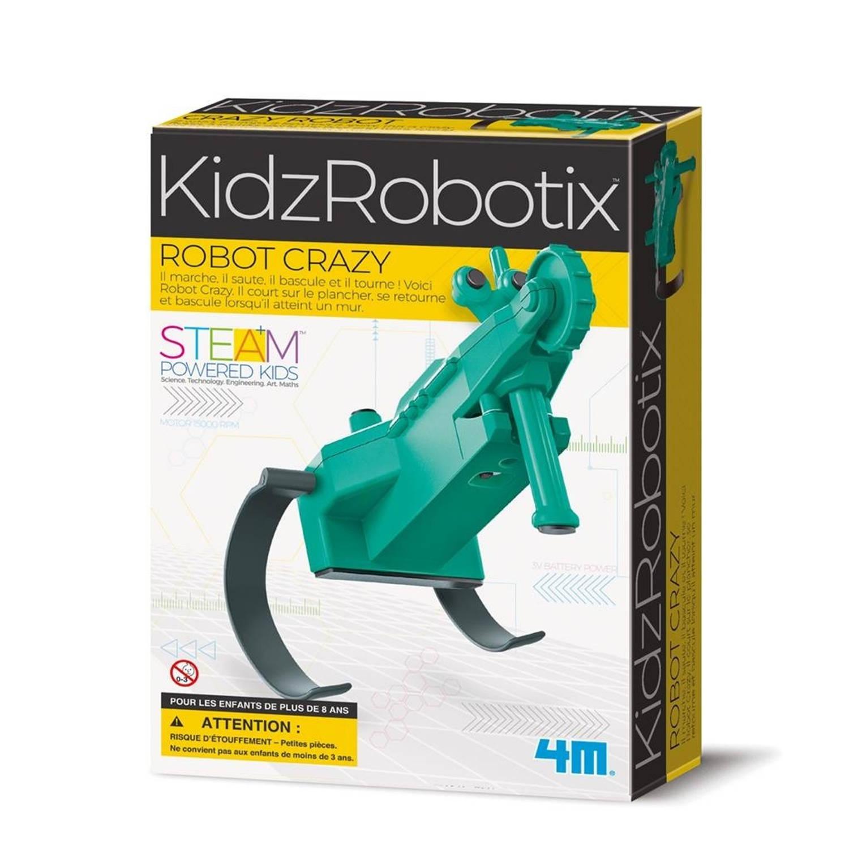 Afbeelding van 4M gekke robot groen/zwart junior (Franstalig)