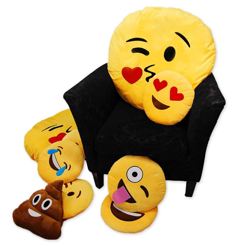Emoji kussens