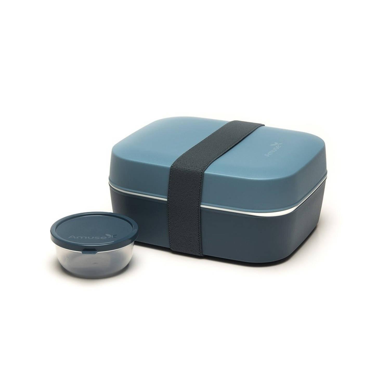 Afbeelding van Amuse lunchbox 3-in-1 grijs