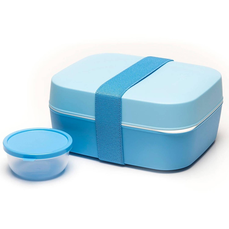 Afbeelding van Amuse lunchbox 3-in-1 blauw