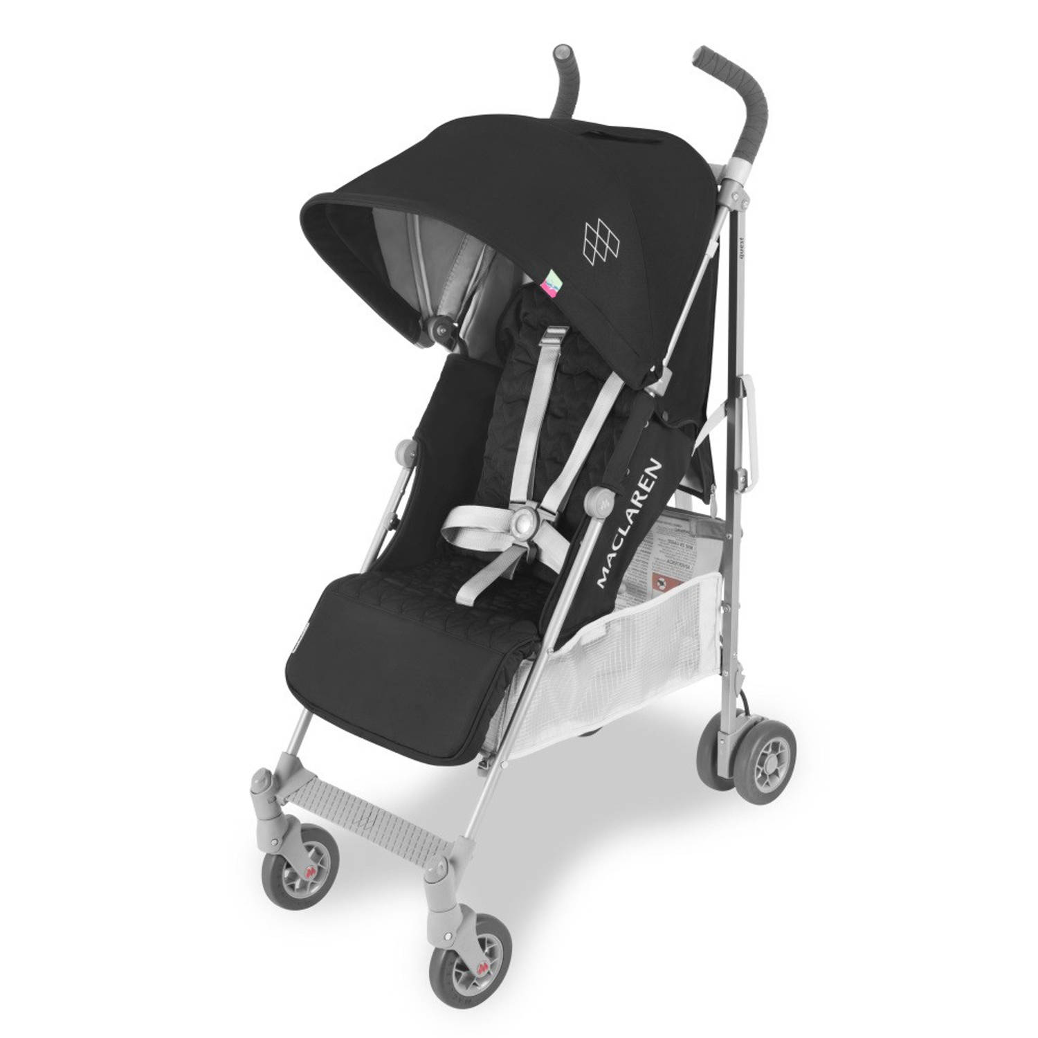Maclaren Buggy Quest Black-Silver