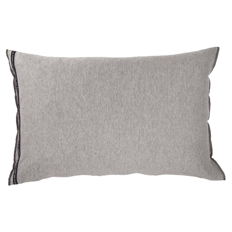 Walra 1208452 sierkussen Soft Jersey 40x60 cm grijs